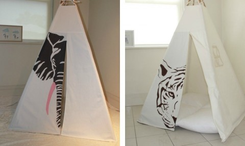 joyjoie elephant and tiger tents