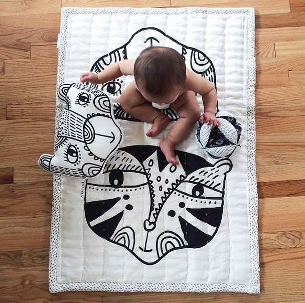 Wee Gallery Blankets and Pillows Â« buymodernbaby.com : organic baby quilts - Adamdwight.com