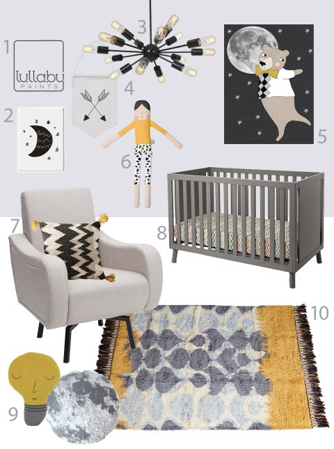 My Modern Nursery 99 Fresh Violet Sponsored by Lullaby Paints