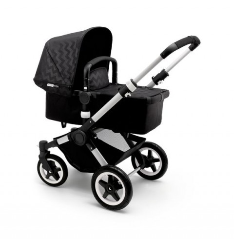 Bugaboo Shiny Chevron Buffalo black