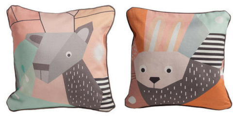 nursery works menagerie pillows