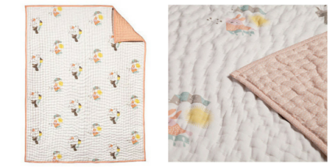 nursery works menagerie quilt