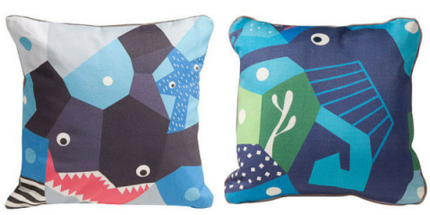 nursery works oceanography pillows