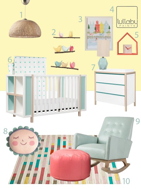My Modern Nursery 101 Sunshine Yellow
