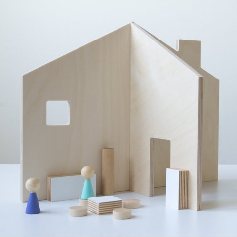 House in a bag from desEnfantillages