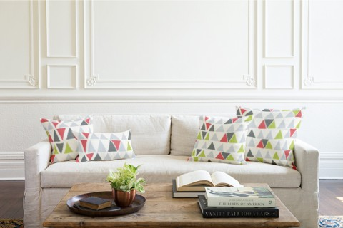 Minted Home pillows