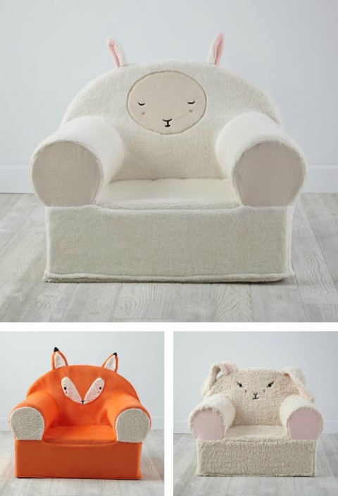 Gingiber Furry Animal Nod Chair