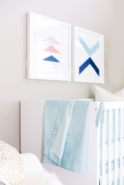 Houston's Nursery by Kailee Wright Oilo crib bedding