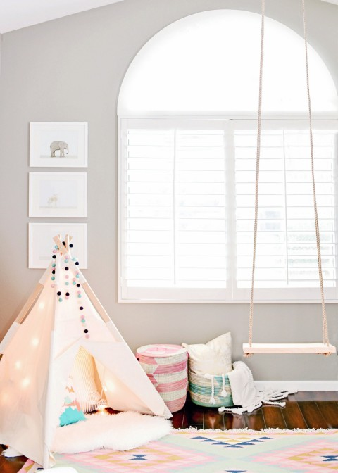Houston's Nursery by Kailee Wright window