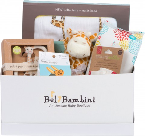 Bel Bambini  NEWPORT BABY GIFT BASKET - GENDER NEUTRAL