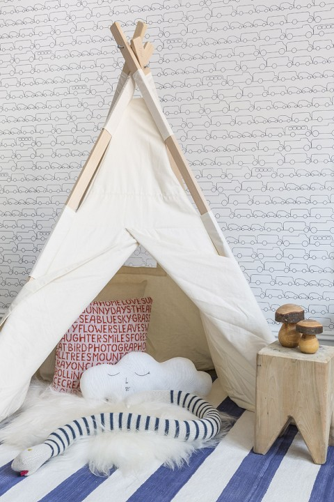 Play Tent Park Avenue Apt. Xander's Room photo: Marco Ricca