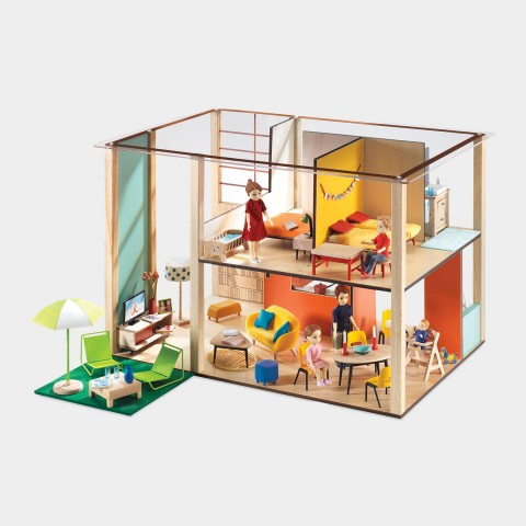 Cubic Dollhouse Set MoMA EXCLUSIVE