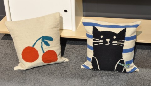 Oeuf at ABC Kids Expo 2015 pillows