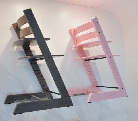 New Stokke tripp trapp colors at ABC Kids Expo 2015