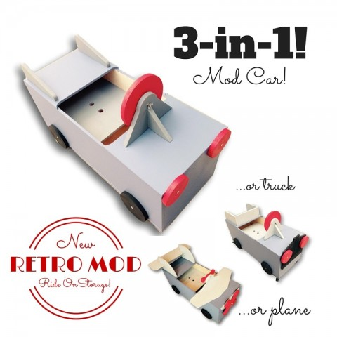 Ride-On Storage Box Mod Mom Furniture