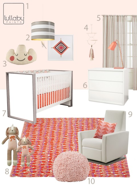 My Modern Nursery 104 : Softeset Pink Lullaby Paints