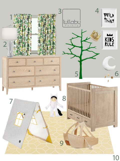 My Modern Nursery 105 Where the Wild Things Are