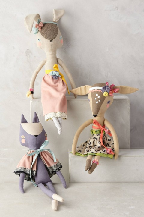 Fashionable Fauna Doll by Abigail Brown