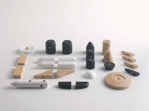 COSMOS: Timeless, Magnetic, Wooden Toys  by huzi