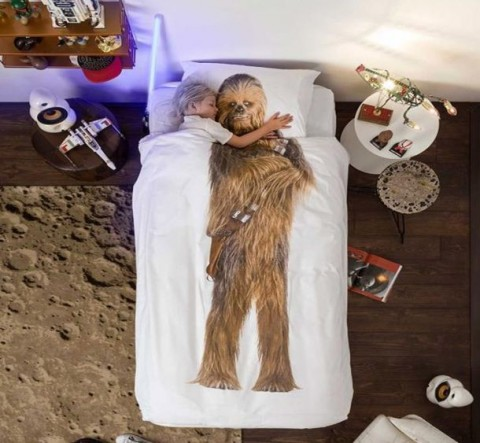 KIDS' SNURK™ STAR WARS™ BEDDING Chewbacca copy