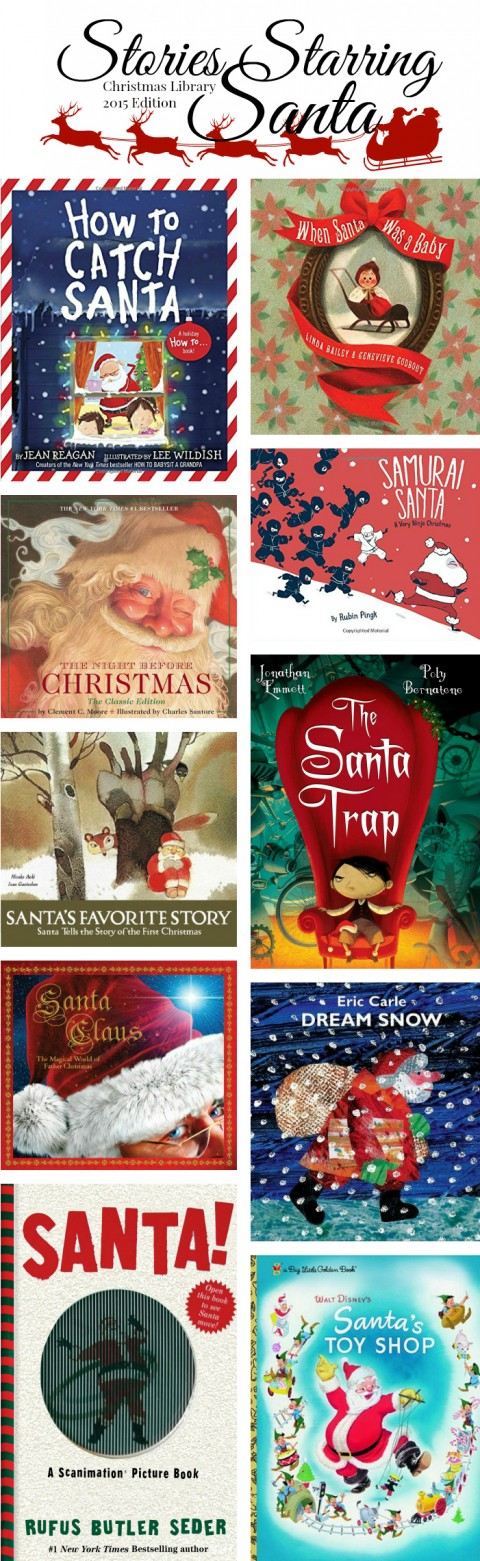 Santa Christmas Books