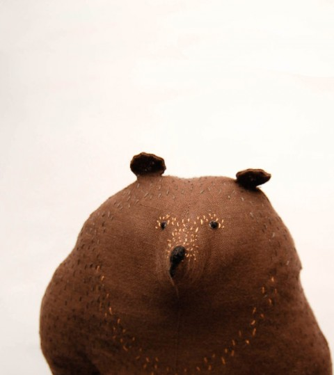 Big Brown Bear Soft Toy