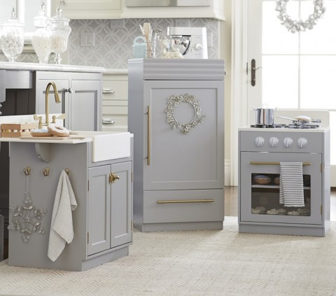 chelsea play kitchen from Pottery Barn Kids