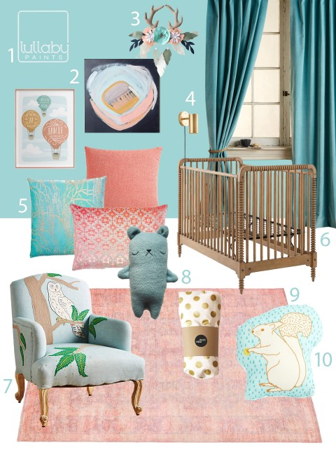 My Modern Nursery 108 : Azure Sea