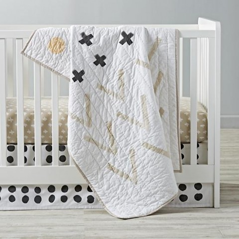 freehand crib bedding at The Land of Nod