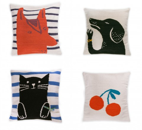 Oeuf Wool Pillows