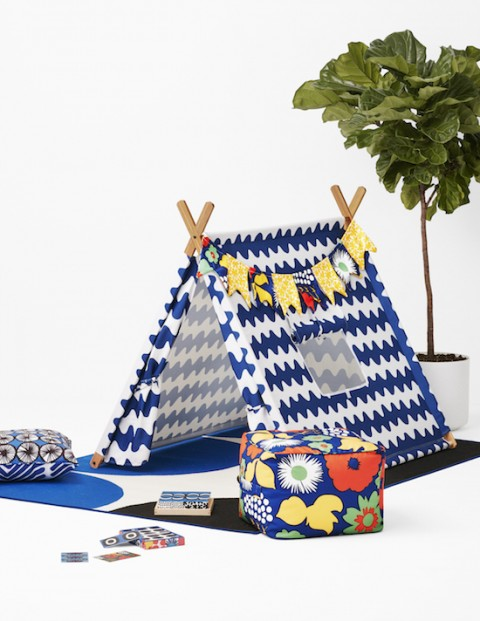 Marimekko for Target Play Tent 3 pc - Lokki Print - Primary