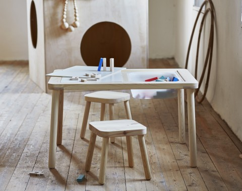 Ikea Flisat Children's Table and stools