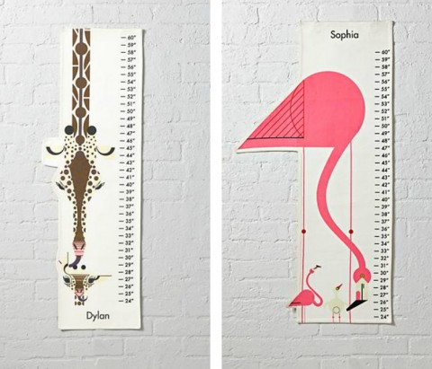 Charley Harper for Nod Growth Charts