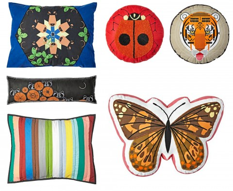 The Land of Nod Charley Harper Pillows