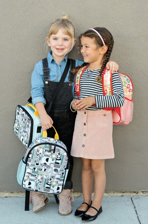 animal and butterfly backpacks from Petit Collage