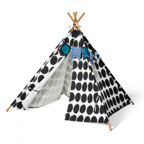 Marimekko for Target Teepee 3 pc - Koppelo Print - Black