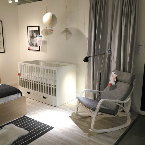 Super Simple Nursery At Ikea Buymodernbaby