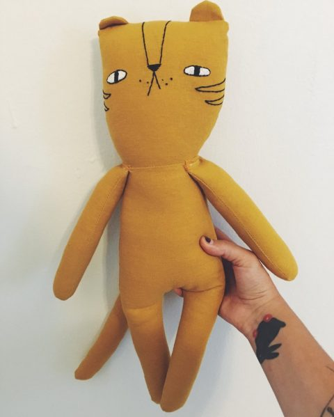Tilden The Tiger | handmade heriloom doll