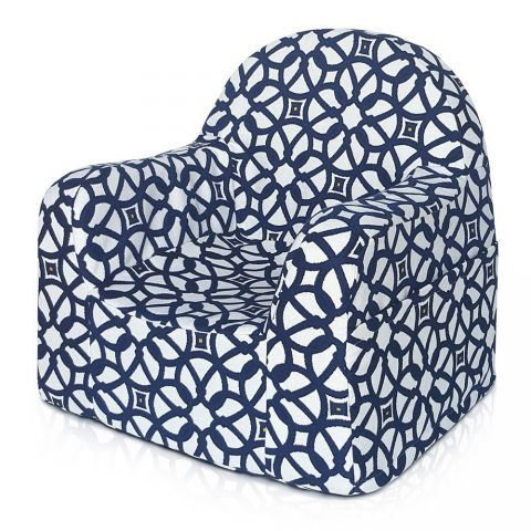 Little Reader chair Special Edition | Bargello Indigo/Blue