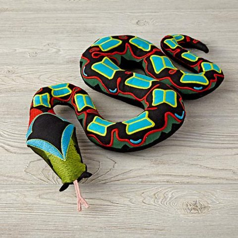 charley-harper-snake-stuffed-animal