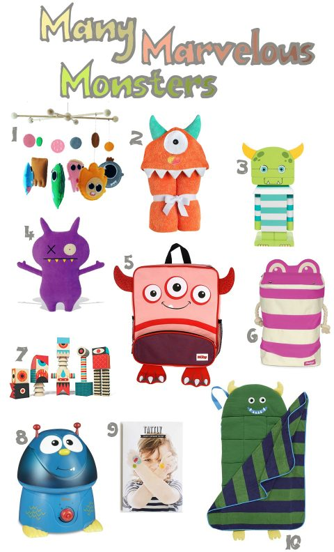 Friendly Monsters for Kids