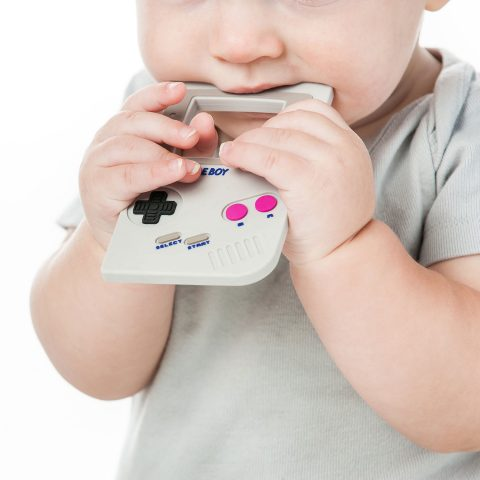 Bumkins Nintendo Silicone Teether