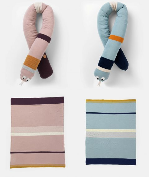 Stripy Snake and Blanket from Ferm Living