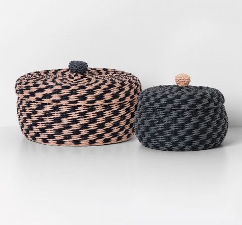 Ferm Living Braided Baskets