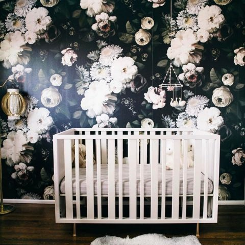 Nursery from HeatherSartainsStyle on IG