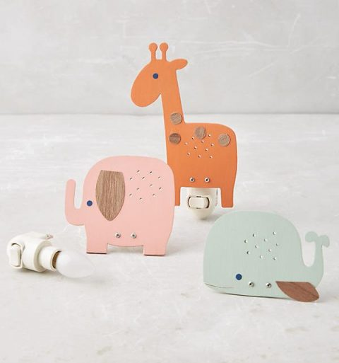 Peaceful Animal Nightlight from Anthropologie