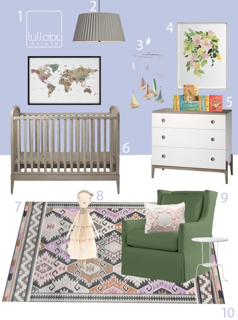 My Modern Nursery 119 Miss Rumphius Inspired Nursery