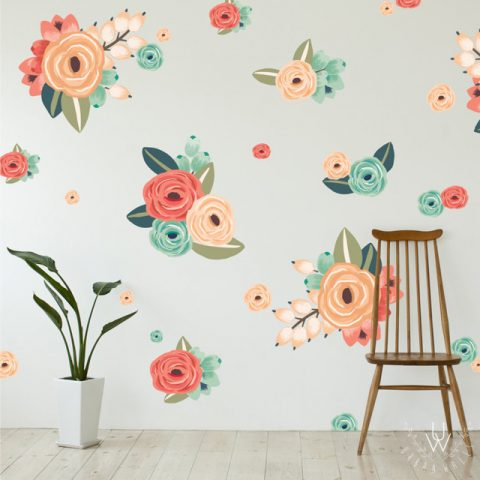 large-floral-wall-decals-in-shades-of-coral-orange-red-and-green__88581.1471293847